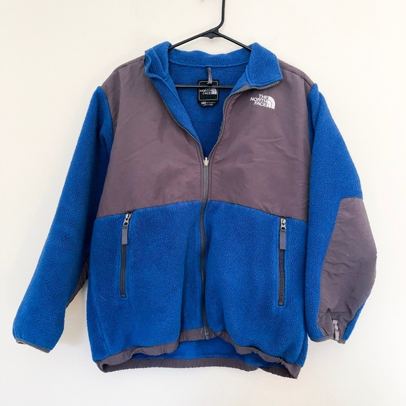 The North Face Other - The North Face Blue Grey Fleece Jacket